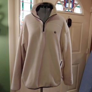 Nautica Competition - 1/4 zip - beige - Large